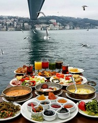 Sunday Breakfast at Bosphorus #sunday #breakfast #bosphorus #istanbul  www.packagetoursinturkey.com (turkeypackagetour) Tags: bosphorus breakfast istanbul sunday