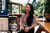 (janniswerner) Tags: meinfilmlab wwwmeinfilmlabde n portrait girl female woman happy fun laughter laughing cute asian taiwanese chinese outdoor outdoors outside 50mm fuji fujifilm superia fujifilmsuperia200 analog film analogue canon canona2e seated sitting deck