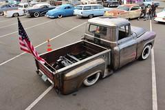 Whitewall Nationals 2016 (USautos98) Tags: 1959 chevrolet chevy apache pickuptruck hotrod streetrod custom lowrider scalloppaint rockabilly