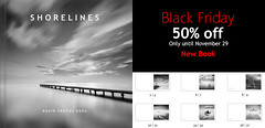 New BOOK: SHORELINES (DavidFrutos) Tags: book libro davidfrutos fineart photography photographer fotgrafo fotografa square bn bw blanco y negro libros paisaje paisajes landscape landscapes seascape seascapes longexposure le largaexposicin agua nubes water clouds viento wind tree trees