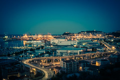 Ancona at blue hour