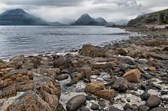 Elgol and The Black Cuillin. (Nurmanman) Tags: elgol skye cuillins scotland highlands hill munro loch