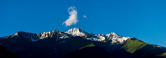 One cloud (oleksandr.mazur) Tags: above alpine altitude caucasus clear cliff crag dusk evening freedom georgia glacier high hill ice icecap landscape light mountain nature outdoor panorama peaceful peak range relax ridge rock scenic sky slope snow snowy summer summit sun sunlight sunny sunshine top tourism travel vacation view wall wide
