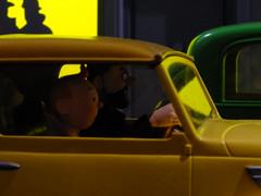 Speeding down the street (failing_angel) Tags: 100115 london cityofwestminster tintin herge tintinhergésmasterpiece hergé