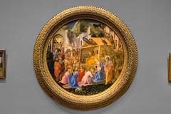 """The Adoration of the Magi - c. 1440/1460"" - Fra Angelico & Filippo Lippi - National Gallery - West Wing (andrewhardyphotos) Tags: the adoration magi c 14401460 art florentine fraangelicoc13961455 franfilippolippic14061469 museum nationalgallerywestwing nikond7200 samuelhkresscollection195222 sigma1750mmf28exdcoshsm temperaonpanel washingtondc"
