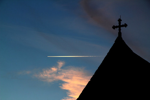 26533  Crossing Heaven at 500mph .. Cuckfield Church...for the Take Aim 'moving' Challenge