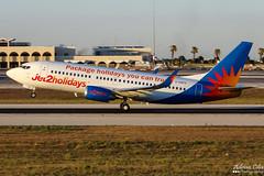 Jet2 --- Boeing 737-300 --- G-GDFO (Drinu C) Tags: adrianciliaphotography sony dsc hx100v mla lmml plane aircraft aviation jet2 boeing 737300 ggdfo 737