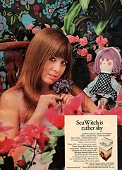Sea Witch Haircolor (jerkingchicken) Tags: vintagebritishad haircareproduct hairdye
