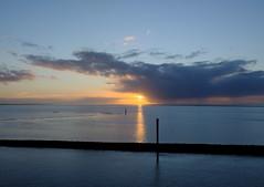 SunsetNorthSea1 (Blues&Roots) Tags: sunset sun reflection seasunset