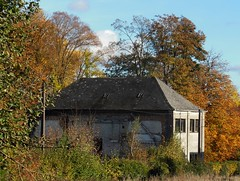 Ancienne Usine du Quesne (xavnco2) Tags: le quesne somme picardie france beaucampslevieux ancienne usine old mill ruine ruin arbres trees automne autumn fall