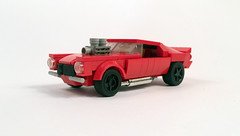 1970 Chevrolet Camaro (timhenderson73) Tags: lego custom moc chevy chevrolet camaro 1970 second gen muscle car hot rod