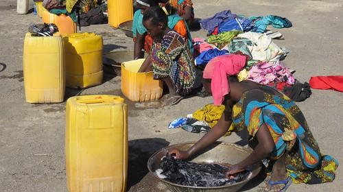 Djibouti_2015 - Lessive à Andaba