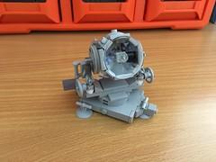 Lego WW2 Flakscheinwerfer 34 (Lego Admiral) Tags: lego german ww2 wwii flak spotlight searchlight flaksheinwerfer 150cm 34