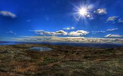 Sun (Roman_P2013) Tags: sun norway lake lakes best shot sky clouds mountans norge nice view