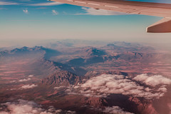 Untitled (elsableda) Tags: capetown cape town southafrica flight plane view mountains travel nature landscape clouds colors summer pink blue africa