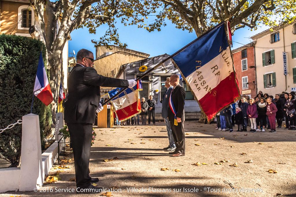 Célébration du 98ème anniversaire de l'Armistice du 11 novembre 1918