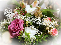 Happy birthday, dear Antonio! (ingrid eulenfan) Tags: geburtstag happybirthday antonio blumen blumenstraus flowers bouquetofflowers straus pflanzen blume