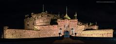 Edinburgh Castle Pano (Damon Finlay) Tags: nikon d750 nikond750 tamron 2470 f28 tamron2470f28 edinburgh scotland panorama edinburghcastle castle nightphotography architecture historicarchitecture