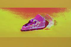 CH3353C4K3 (boozleman) Tags: stilllife negativespace glitch glitchart bakedgoods deserts studiolighting flash