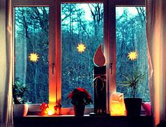 Bereit (FrauN.ausD.) Tags: fenster dekoration licht stern advent window wednesday