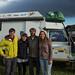 Os alemães Moritz e Lisa nos fizeram companhia