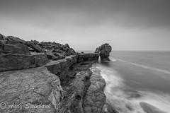 Pulpit Rock, Dorset. (andrewswinbank) Tags: stack rock pulpitrock coast seascape leefilters gitzo canon jurassiccoast dorset portlandbill portland landscape
