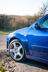 Enkei RS alloy (Bennett Photography - jonyb466) Tags: focus rs mk1 blue wheel alloy ford fast hot hatch