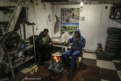 Workers in Gaza keeping warm as winter sets in.. #Gaza (TeamPalestina) Tags: freepalestine palestinian sunrise sweet beautiful heritage live photo photographer comfort natural  palestine nice am amazing innocent occupation landscape landscapes reflection blockade hope canon nikon sunset