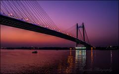 Beauty between Golden Hour and Blue Hour (Mriganka_Borah) Tags: golden hour blue landscape bridge