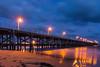 DSC_2758 (danieleeffe1) Tags: coffs harbour sea waves tranquil lights pier blue clouds sky sand water acqua notte luci nottunro australia porticiolo passerella