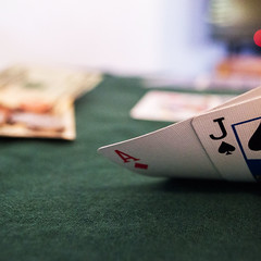 gamble (Tinkerwho) Tags: gambling money green cards 21 felt gamble addiction addict gambler