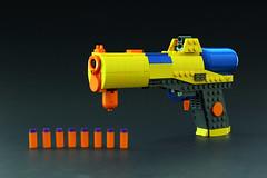 LEGO NERF SOAKER! (Legohaulic) Tags: toy gun lego nerf soaker