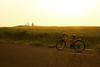 Taiwan,Penghu─biking in sunshine (Johnson Hung) Tags: light sunset sky cloud sun weather bike canon roc eos taiwan formosa penghu 450d canoneoskissx2
