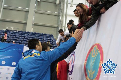 Ерулан Искаков победитель Чемпионата Азии по видам борьбы, 2014