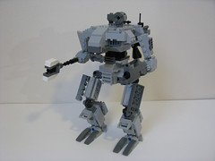 Raider [Front] (ExclusivelyPlastic) Tags: game video lego military mecha mech hawken