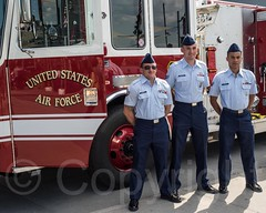 U.S. Air Force Joint Base McGuire-Dix-Lakehurst Fire Truck, Fleet Week 2014 at the Intrepid Museum, New York City (jag9889) Tags: nyc newyorkcity usa ny newyork museum river ship unitedstates manhattan clinton military unitedstatesofamerica vessel firetruck celebration intrepid hudsonriver naval waterway warship hellskitchen fleetweek 2014 intrepidmuseum ussintrepid northriver navigable pier86 intrepidseaairandspacemuseum fleetweeknewyork jag9889 5252014 2014fleetweek