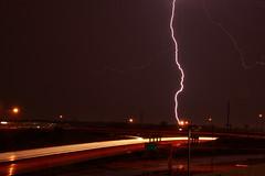 Lightning Trails (Anantha NV) Tags: sky night lights missouri lighttrails lightning saintlouis canondslr canon500d sigma18250mm canont1i