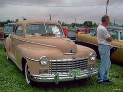 1948 Dodge (kenmojr) Tags: auto park door new 2 two classic 1948 car vintage centennial automobile antique brunswick moncton vehicle dodge mopar coupe atlanticnationals
