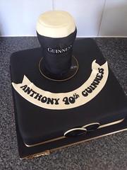 Guinness Glass Cake