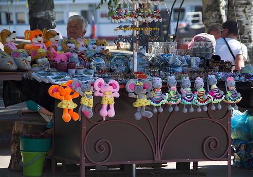 Мышкинские сувениры / souvenirs from Myshkin (Mouse City)