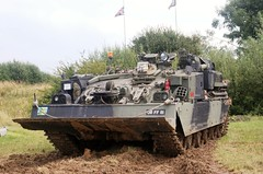 Chieftan ARV (MJ_100) Tags: show army tank armor vehicle britisharmy armour revival warandpeace chieftan arv armouredrecoveryvehicle armoredrecoveryvehicle arrv