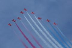 The Red Arrows 25 (Ronnie Macdonald) Tags: hawk airshow redarrows fairford ronmacphotos riat2014