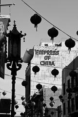 empress of china (eb78) Tags: sf sanfrancisco blackandwhite bw monochrome chinatown grayscale greyscale