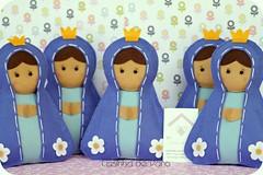 Nossa Senhora (Casinha de Pano) Tags: handmade felt feltro nossasenhoraaparecida enfeitedemesa