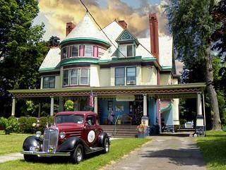 Elmira Ny ~ Christmas House ~ 361 Maple Avenue ~ Maple Avenue Historic District
