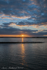 Sunset Malahide Estuary.... (Ossie13 aka Steve) Tags: ireland sunset clouds eire estuary malahide 2014 d300 malahideestuary fingal codublin nikond300 1685mm nikkor1685 stevemathers swordsviewfinders