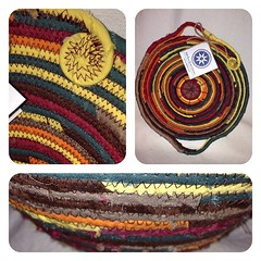 "The first basket of the season made up in fall colors was just added to our shop. Take a look:  https://www.etsy.com/listing/200017208/small-egg-basket-0434 • <a style=""font-size:0.8em;"" href=""http://www.flickr.com/photos/54958436@N05/14741346097/"" target=""_blank"">View on Flickr</a>"