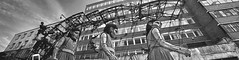 Giant Girl in Liverpool (jimmedia) Tags: girl liverpool giants merseyside strolling