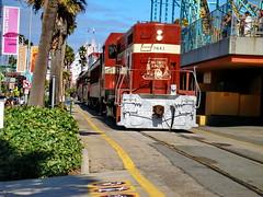 Santa Cruz 03 (mfnure31) Tags: california santacruz train boardwalk locomotive railroadtrack
