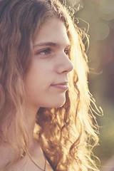 sunshine (MargaritaP.) Tags: summer portrait people woman sunlight girl sunshine canon hair curls sunnyday summerhaze girlportrait womanportrait